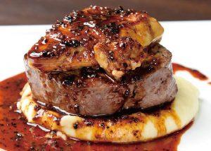 【俺のイタリアンバル 八重洲】牛フィレ肉とフォアグラのロッシーニ風ステーキ