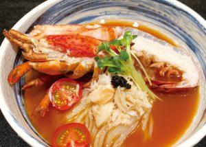 【俺の焼肉】オマール海老の冷麺